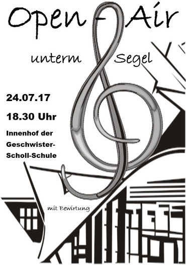 Open-Air unterm Segel